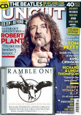 Robert Plant en couverture du magazine Uncut