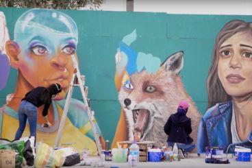 Roksy and Drobys, when two Casablanca-based artists break street art gender stereotypes