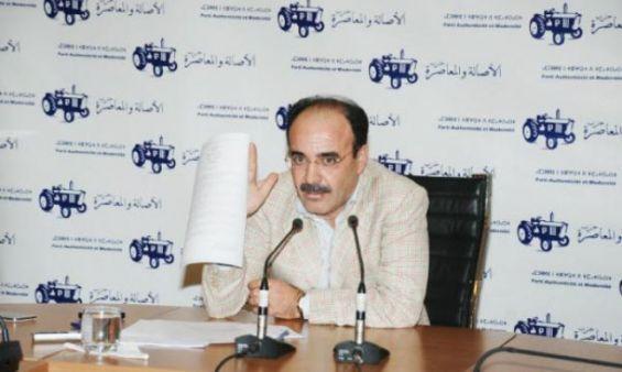El Omari démissionne de son poste de Secrétaire général