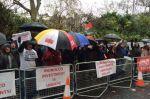Paradise Beach : Nouvelle manifestation des investisseurs devant l'ambassade du Maroc à Londres