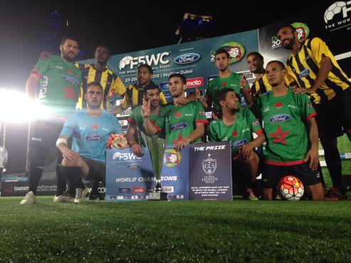 Dubaï : Le Maroc gagne la Coupe du monde de football à 5 face à l'Espagne