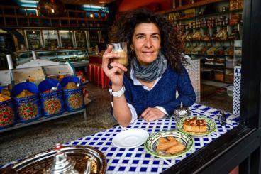 Hana Assfari owner of a Moroccan restaurant in Australia that empowers Muslim women