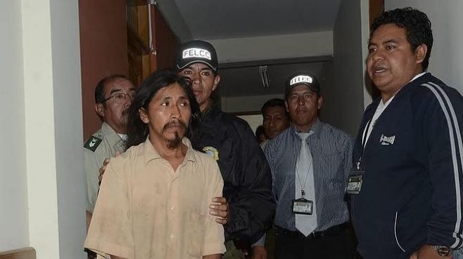 Grover Morales, l'homme qui a emmené la fillette marocaine avec lui dans la jungle bolivienne, purge depuis 2014, une peine de 17 ans de prison