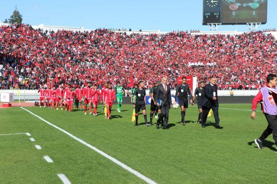 من مباراة الديربي البيضاوي - تصوير: المهدي مساهم /يابلادي