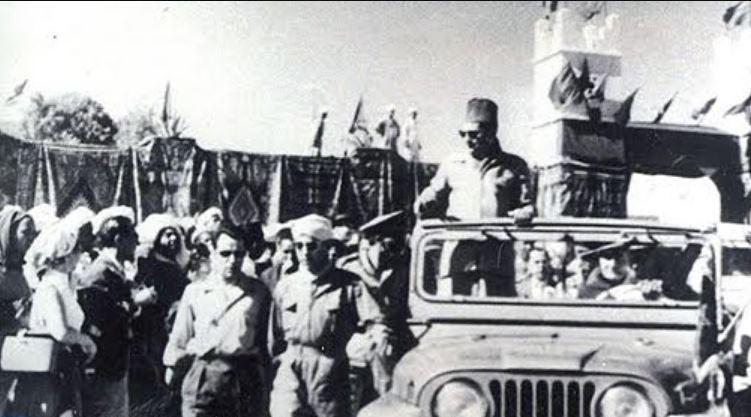 Le roi Mohammed V. / Ph. DR
