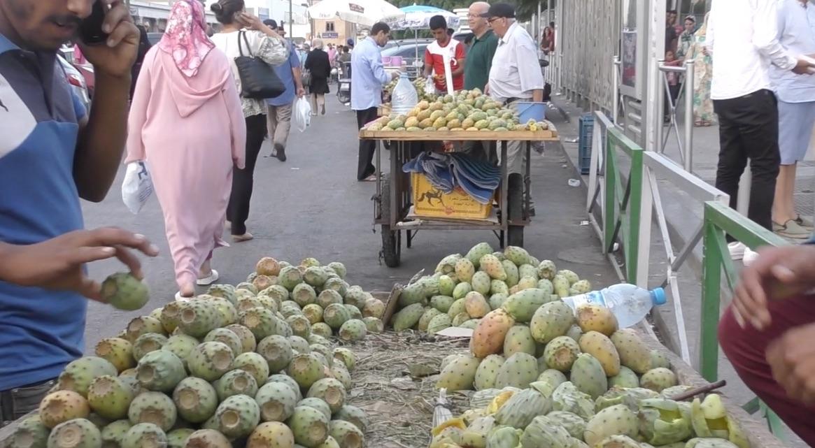 street food 7 figue de barbarie petit d lice de l t marocain. Black Bedroom Furniture Sets. Home Design Ideas