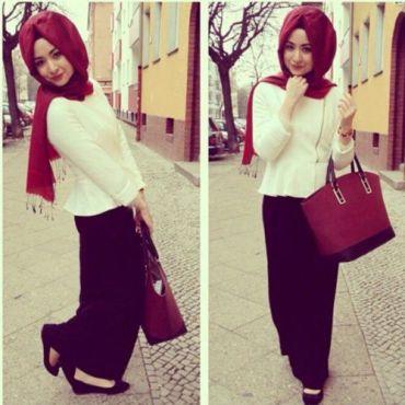 Tendances hijab   Sélection de looks spécial voilées 3e91ff2dd80