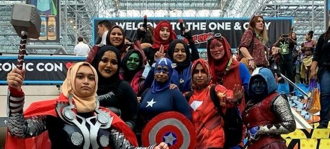 Hijabi girls pull off their favorite Avengers costumes at the New York Comic Con