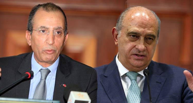 Espagne le ministre de l 39 int rieur marocain d cor for Le ministre de l interieur