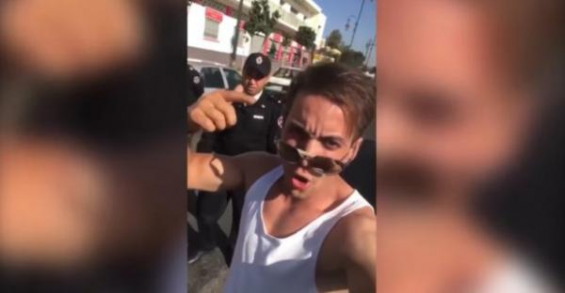 Le jeune homme ivre roulant en Ferrari arrêté à Casablanca