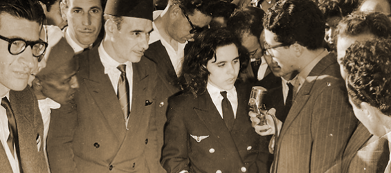 Touria Chaoui, Morocco's first female pilot and daring teenager