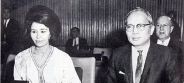 Halima Embarek Warzazi, a Moroccan woman with a long and distinguished diplomatic career