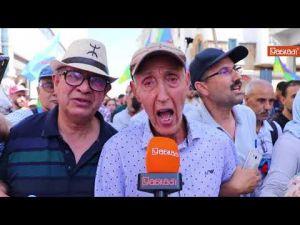 الآلاف يطالبون بإطلاق سراح معتقلي حراك الريف بالعاصمة الرباط
