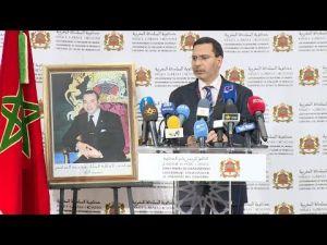 الخلفي: الدولة حريصة على حفظ أمن واستقرار منطقة الحسيمة