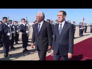 الوزير الاول البرتغالي يصل إلى الرباط في زيارة عمل للمملكة