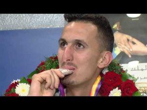 عودة المنتخب المغربي لألعاب القوى إلى أرض الوطن