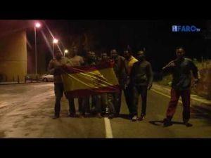 Maroc : 359 migrants ont forcé la frontière de Ceuta tôt ce matin