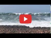 Harhoura : Six personnes secourues après avoir été surprises par une vague géante