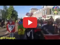 The Netherlands : A thousand of protesters manifest to support the Rif (video)