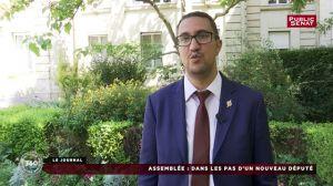 Premier pas d'un député franco-marocain à l'Assemblée nationale