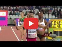 Sanaa Benhama remporte à Londres la médaille d'or du 1500 m des \
