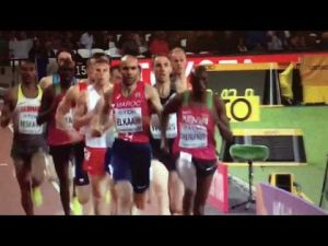 London 2017 athletics : Moroccan athlete Fouad El Kaam qualified for men's 1500 m final