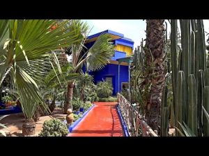 Nomad #38 : le jardin Majorelle où le bleu est roi