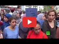 Barcelone : Des musulmans manifestent contre le terrorisme