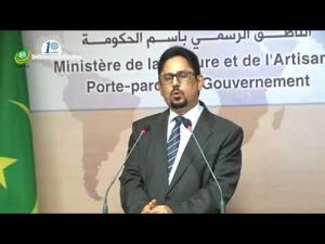 The Moroccan ambassador is accredited, according to the Mauritanian government spokesman