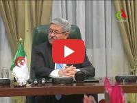 Brahim Ghali meets Ahmed Ouyahia in Algiers