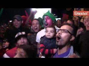 Casablanca : Revivez en images la folle nuit  de fête de la qualification du Maroc au Mondial