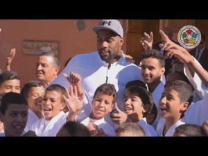 Judo for orphans : An IJF delegation visit Bab Ghmat orphanage