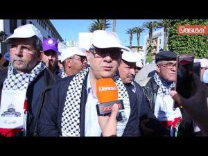 الرباط: مئات الآلاف يشاركون في مسيرة تضامنية مع الشعب الفلسطيني [فيديو+صور]