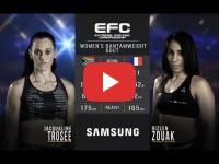 MMA: Morocco's Rizlen Zouak beats Jacqualine Trosse in 27 seconds
