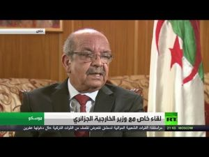 Reviving the Arab Maghreb Union : Messahel denies his country's responsibility