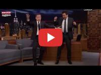 When Gad Elmaleh teaches Jimmy Fallon how to hip thrust like a Moroccan