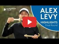 France's Alexander Levy wins the Hassan II Golf Trophy