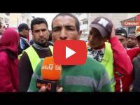 Casablanca : Le renversement d\'une grue géante fait deux blessés graves