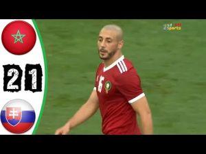 مباراة ودية: المنتخب المغربي يفوز على نظيره السلوفاكي