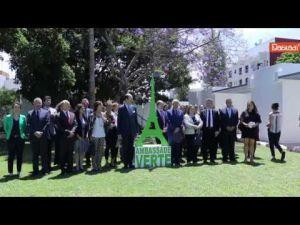 Maroc : L'Ambassade de France à Rabat obtient le titre d'Ambassade Verte