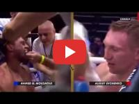 Boxing : Morocco\'s Ahmed El Mousaoui beats Russia\'s Alexey Evchenko
