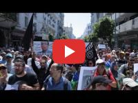 Hirak : Hundreds rally in Casablanca to denounce the heavy sentences