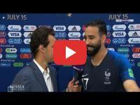 عادل رامي: أنا بطل للعالم مع فرنسا وأنا فخور بأصولي المغربية