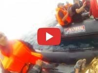 Spain : A four-year-old Moroccan child rescued in the Cadiz Bay