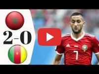 Morocco's national team beats Cameroon's Untameable Lions
