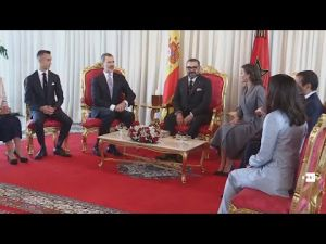 الملك محمد السادس والعاهل الإسباني يترأسان حفل التوقيع على 11 اتفاقية