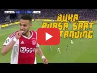 Morocco's Ziyech and Mazraoui observe Ramadan during Ajax's Champions League game