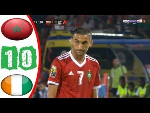 Morocco books its play into Afcon's next round after beating Cote d'Ivoire
