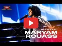Maryam Rouass, a Moroccan teenager who wants to win Italy's X Factor