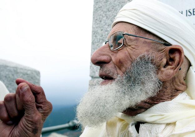 Ali Nadi, le dernier goumier marocain. / Ph. Corse Matin